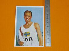 BERLIN 1936 JEUX OLYMPIQUES ERIK NY SVERIGE ATHLETISME 1500 M OLYMPIC GAMES 36