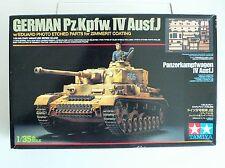 Tamiya 1/35 German Panzer Kpfw Mk 4 Tank Model Kit with ETCHED PARTS 35262