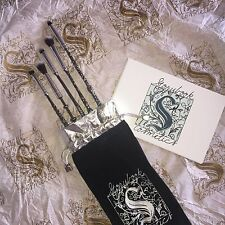 Storybook Cosmetics Wizard Wand Makeup Brush Set Harry Potter | 100% Auth ♡AUS♡