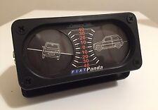FIAT PANDA 4x4 OLD 141 REPLICA INCLINOMETRO CON FONDINO PERSONALIZZATO COUNTRY