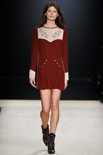 Dress Of The Season: Isabel Marant AW12 Western Embroidered Dress FR40/UK12 New