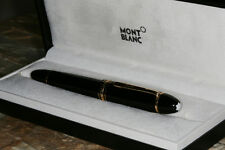 Montblanc Meisterstuck 149 Fountain Pen 18k Broad Nib w Authenticity Certificate