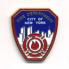 Fire Department New York FDNY Badge Emblem Feuerwehr Pin Anstecker 0088