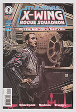 Star Wars: X-Wing Rogue Squadron In the Empire's Service #1 2 & 4 Set Dark Horse