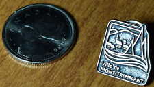 Canada Quebec Mont-Tremblant Ski Skiing Official Metal Lapel Hat Pin Épinglette
