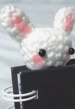Crochet Pattern ~ LITTLE BUNNY BOOKMARK Easter ~ Instructions