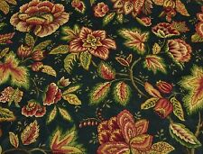 "MILL CREEK AMBROSIANNA TWILIGHT FLORAL EMBOSSED COTTON FABRIC BY THE YARD 54""W"