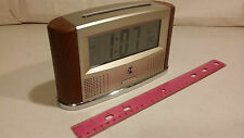 ila Atomic Talking Clock w/ Calendar, Alarm & Temperature - Talking Alarm Clock!