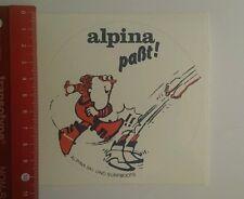 Pegatina/sticker: alpina adaptará alpina ski y surfboots (22091676)