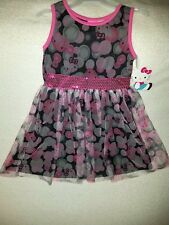 Hello Kitty Dress for Girls-Size M 7/8- NWT-Adorable!