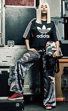 Adidas Originals x Rita Ora Asia Pattern Wide Leg Kimono Track Pants - US Small