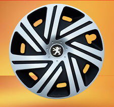 "Set of  4 x 14"" wheel trims to fit Peugeot 106,107,206,306,Partner"