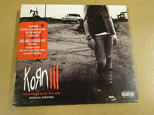 LIMITED EDITION CD + DVD / KORN III - REMEMBER WHO YOU ARE