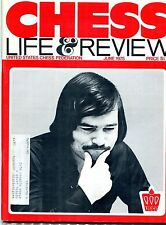 June 1975 Chess Life & Review Magazine Walter Browne Cover