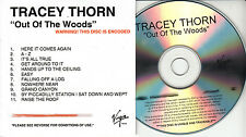 TRACEY THORN Out Of The Woods UK 11-trk numbered/watermarked promo test CD