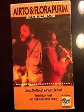 Airto & Flora Purim Latin Jazz All-Stars Music Festival Concert Video VHS LIVE