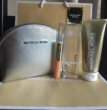 SPORTY CITRUS Gift Set 4 Pcs EDP For Women w/ MICHAEL KORS Handbag MK2970