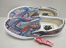 Vans Women's Classic Slip On Abstract Multi VN-0UC4D64 Size: 8