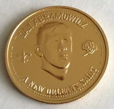 NEW ORLEANS SAINTS NFL VINTAGE OLD DAN DANNY ABRAMOWICZ DOUBLOON COIN XAVIER !!