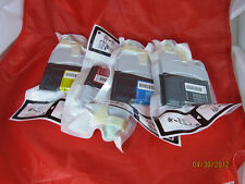 4 Genuine Brother LC61 LC61BK LC61C LC61M LC61M Ink Cartridges for DCP 165C 385C