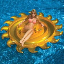 Sun Float Giant 210cm Inflatable Pool Raft Mat Swimline 90606 Beach Water Party