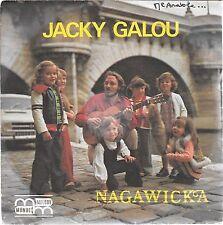 """45 TOURS / 7"""" SINGLE--JACKY GALLOU--LA ROSE ET LA GUITARE / MONSIEUR ANATOLE--"""