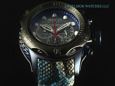 New Invicta Ltd Ed Venom Empire Swiss Made Chrono Torquoise Snake SS 200M Diver