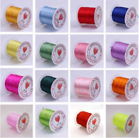 2pcs 0.5mm 10M Shock Stretchy Elastic Crystal String Beading Cord Thread Wire