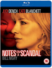 NOTES ON A SCANDAL - BLU-RAY - REGION B UK