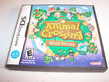 Animal Crossing Wild World (Nintendo DS) Lite DSi XL 3DS 2DS w/Case & Manual