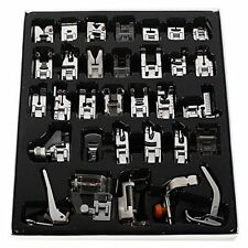 32pcs Presser Foot Feet For Brother Singer Domestic Sewing Machine Tool Kit