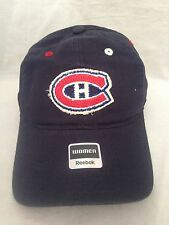 Montreal Canadiens NEW Womens Slouch Hat . NHL Hockey Adjustable Fan Cute Cap