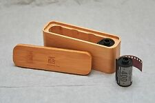 New Bamboo Film Case for 135 /120 Films - Free Shipping