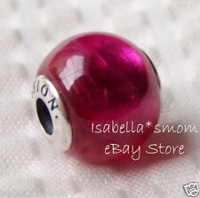 PASSION New ESSENCE COLLECTION 100% Authentic PANDORA Synthetic RUBY Charm~Bead
