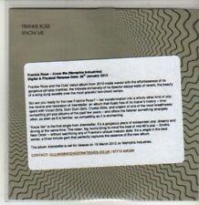 (CS951) Frankie Rose, Know Me - 2012 DJ CD