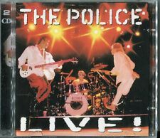 The Police   2 CD's   THE POLICE LIVE   (c) 2003 A&M UK
