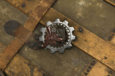 Steampunk Pin Large Multi Finish Metal Gear Shaped Bar Style Steampunk Pin