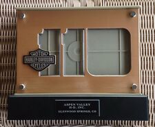 LTD Edition Harley Davidson 110th Anniversary Lighted Double Sided Picture Frame