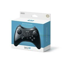 Official Nintendo Wii U Pro Wireless Controller For Nintendo Wii U Game (Black)