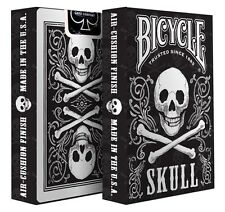 2 Decks Bicycle Skull Standard Poker Playing Cards Brand New Decks