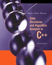 NEW - Data Structures and Algorithm Analysis in C++ (3rd Edition)