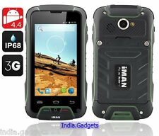 iMAN V3 Android 4.4 Tough Dual Sim Phone: Waterproof + Dust Proof + Shockproof