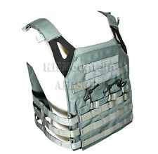 Tactical Military Molle Plate Carrier JPC Vest / Grey (KHM Airsoft)