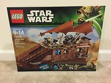 New!! Lego Star Wars Jabba's Sail Barge (75020)