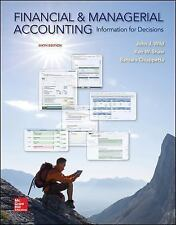 Financial and Managerial Accounting: Information for Decisions, by Wild, 6th ...