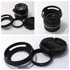 Adapter Ring + Hood + cap Leica E39  to Summicron-C 40/2 39mm (S5.5) f/2.0 Lens