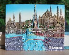 Istanbul Holy Wisdom Turkey Souvenir Travel Resin Fridge Magnet