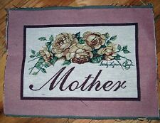 """1 Pretty """"Mother Tapestry"""" Pillow Top Fabric Panel"""