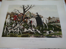 Herring Quentery  Harris  Chasse à courre au renard  Fox hunting The Theath