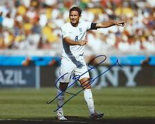 Frank Lampard Signed 8×10 Photo Team England World Cup Soccer Autographed COA